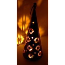 Zdobená svítící lampa-29cm