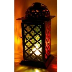 Zdobená svítící lampa-22cm