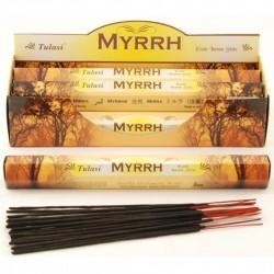 Vonné tyčinky - MYRRH (Sada 6 krabiček)