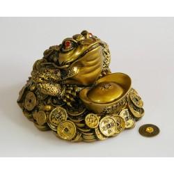 Třínohá žába střežící mince - VELKÁ