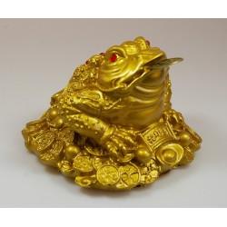 Třínohá žába střežící mince-X střední