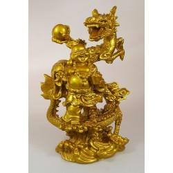 Buddha s  zlaty drak