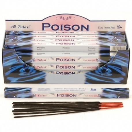 Vonné tyčinky - POISON (Sada 6 krabiček)