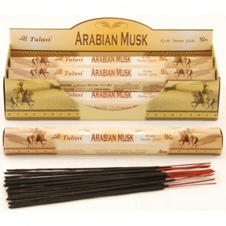 Vonné tyčinky - ARABIAN MUSK (Sada 6 krabiček)