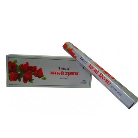Vonné tyčinky - REAL ROSE (Sada 6 krabiček)