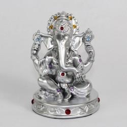 Stříbrný Ganesha 13cm
