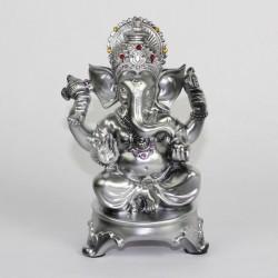 Stříbrný Ganesha 17cm