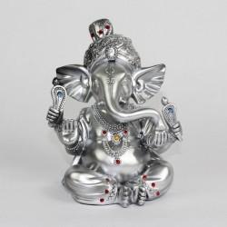 Stříbrný Ganesha 18cm