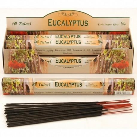 Vonné tyčinky - EUCALYPTUS (Sada 6 krabiček)