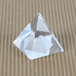 Těžítko, křišťálová pyramida 4cm