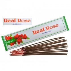 Vonné tyčinky - Real Rose (Sada 12 krabiček)