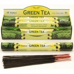 Vonné tyčinky - GREEN TEA (Sada 6 krabiček)