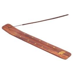 Stojánek na tyčinky dlouhý dřevo (Sada 6 kus)