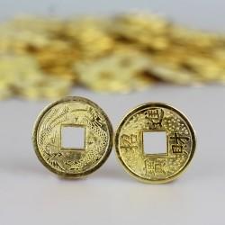 Čínské mince zlaté 1,5cm - 500 kusů