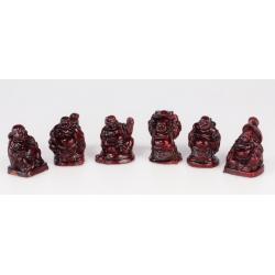 Buddha  ( sada-6 kusů)