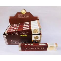Vonné tyčinky - INDIAN SPICES  (Sada 12 krabiček)
