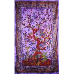 Orientální bavlněný přehoz Strom života 140x210cm