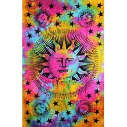Orientální bavlněný přehoz Slunce 140x210cm