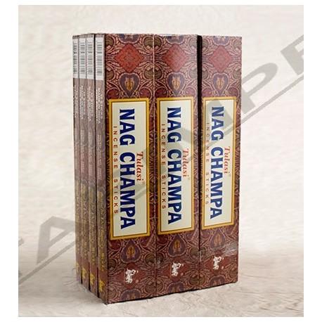 Vonné tyčinky - SEVEN CHAKRA Nag Champa  (Sada 12 krabiček)