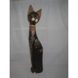 Kočka sedící bokem 80cm
