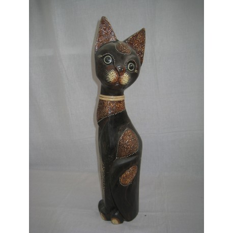 Kočka sedící bokem 60cm