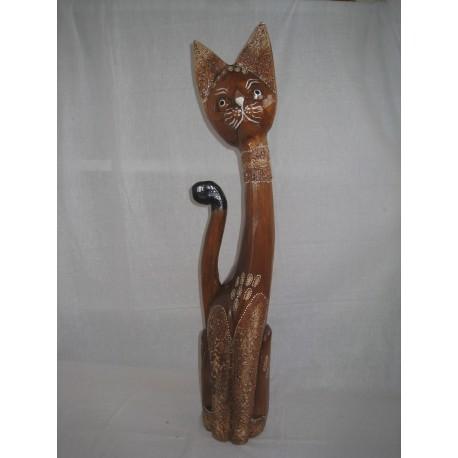 Kočka dlabaná 80 cm