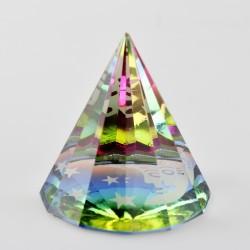 Těžítko, křišťálová pyramida 6cm