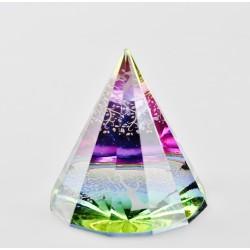 Těžítko, křišťálová pyramida 6cm-Strom život
