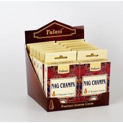 Vonné Františky Nag Champa  (Sada 12 krabiček)