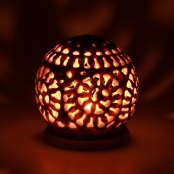 Mramorový Lampa