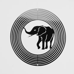 Kovové spirála-Slonem