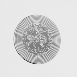 Kovové spirála-Drak