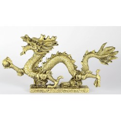 Drak zlaty 22cm
