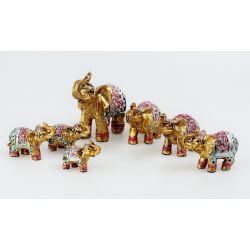 Sada 7 slonů