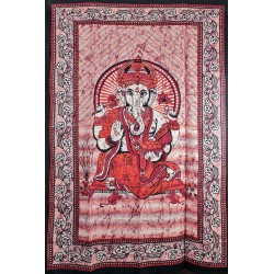 Orientální bavlněný přehoz Ganesha 140x210cm