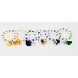 Jednobarevný náramek  -(SADA 12ks)