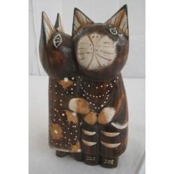 Zamilované kočky 17cm