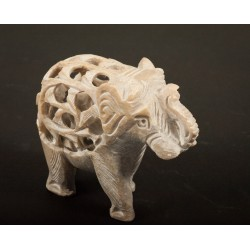Mramorový slon 8cm