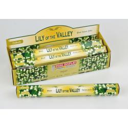Vonné tyčinky -  Lilly of the Vally   (Sada 6 krabiček)