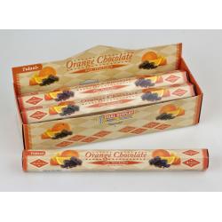 Vonné tyčinky - ORANGE CHOCOLATE  (Sada 6 krabiček)