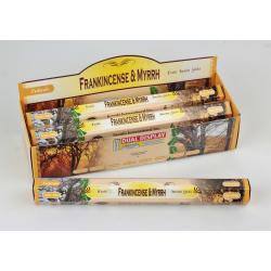 Vonné tyčinky Frankincense & Myrrh.  (Sada 6 krabiček)