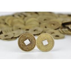 Čínské mince 3cm - 500 kusů