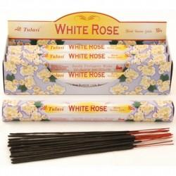 Vonné tyčinky - WHITE ROSE (Sada 6 krabiček)