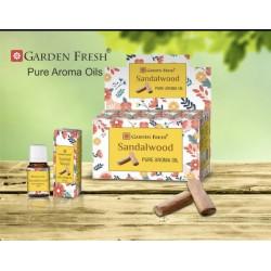 Garden Fresh esenciální olej  - SANDALWOOD (sada 6 kusu)
