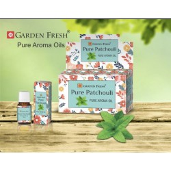 Garden Fresh esenciální olej  - Pure Patchouli (sada 6 kusu)