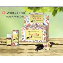 Garden Fresh esenciální olej - VANILLA  (sada 6 kusu)
