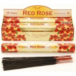Vonné tyčinky - RED ROSE (Sada 6 krabiček)
