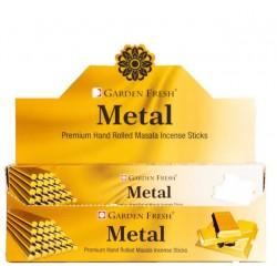 Vonné tyčinky Graden fresh - METAL  (Sada 12 krabiček)