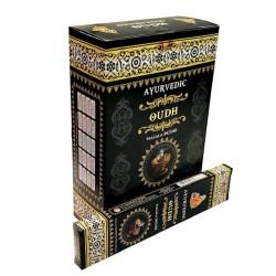 Vonné tyčinky Ayurvedic - OUDH  (Sada 12 krabiček)