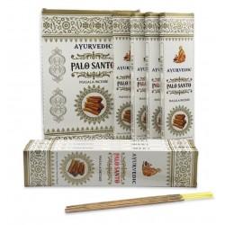 Vonné tyčinky Ayurvedic - PALOSANTO (Sada 12 krabiček)